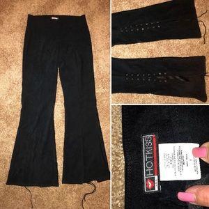 New Item! Heart kiss size 3 Flare hip velvet pants